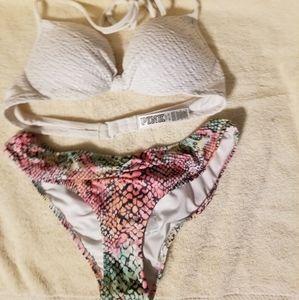 PINK Victoria's secret bathing suit